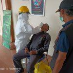Pelaksanaan Swab PCR deteksi Covid 19 di Kantor Pengadilan Negeri Situbondo