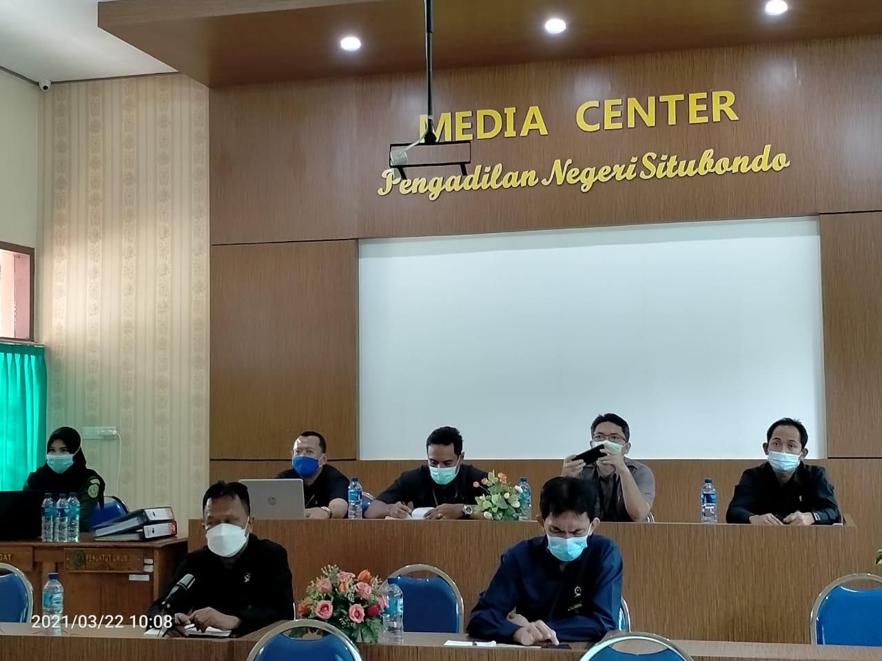 Penilaian Desk Evaluasi atas Pelaksanaan Zona Integritas Pengadilan Negeri Situbondo Menuju WBK dan WBBM 2021