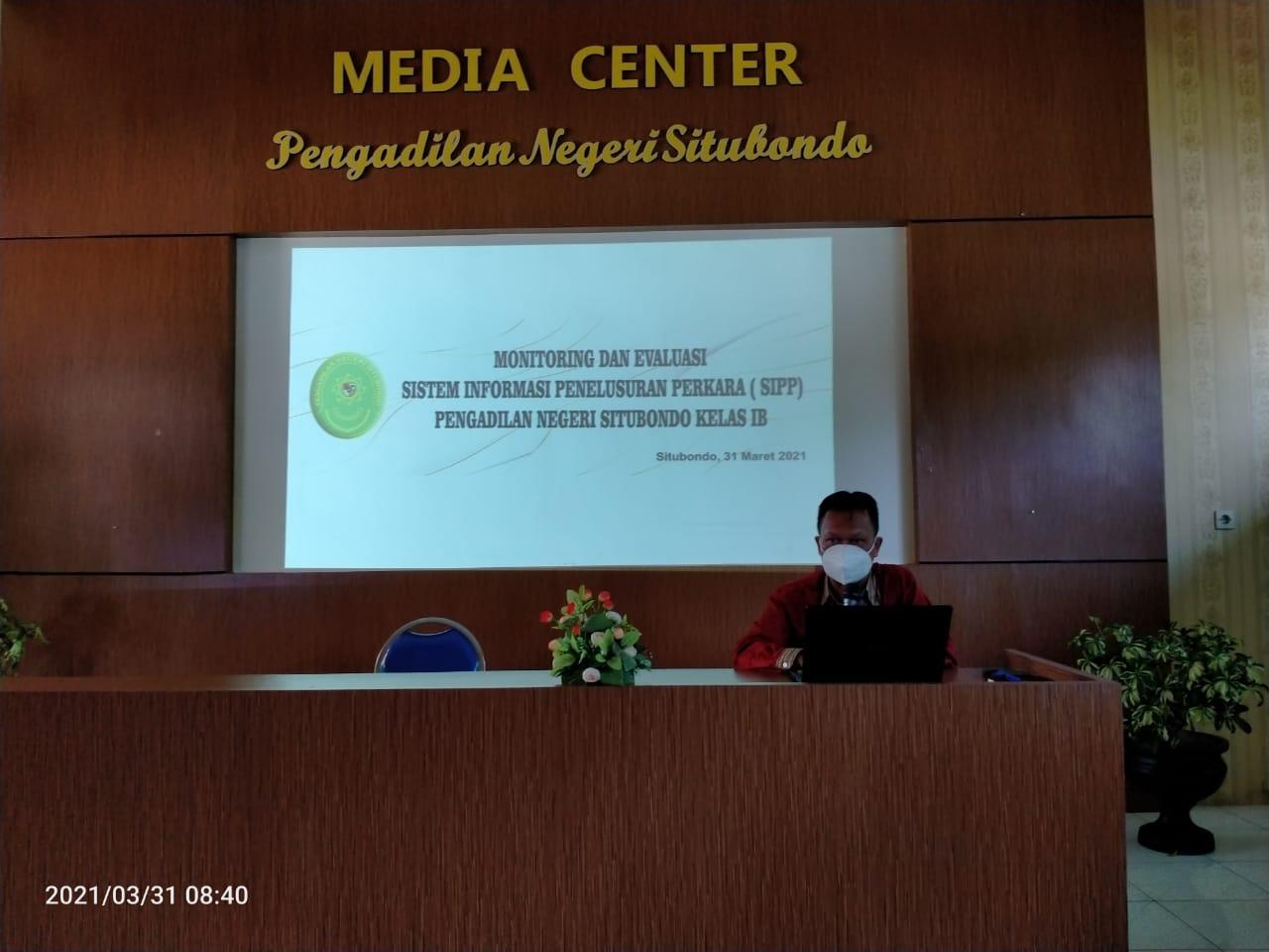 EVALUASI KINERJA SISTEM INFORMASI PENELUSURAN PERKARA ( SIPP ) di KANTOR PENGADILAN NEGERI SITUBONDO